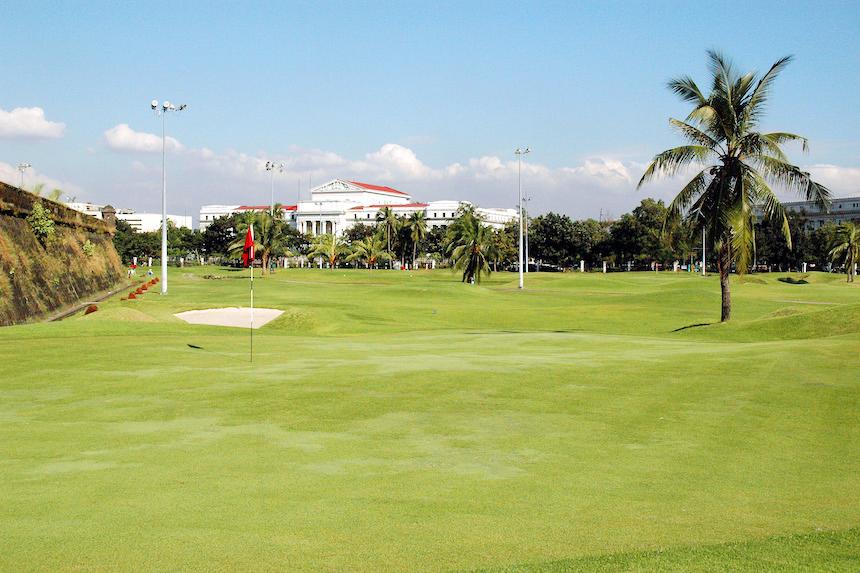 クラブ イントラムロス ゴルフコース