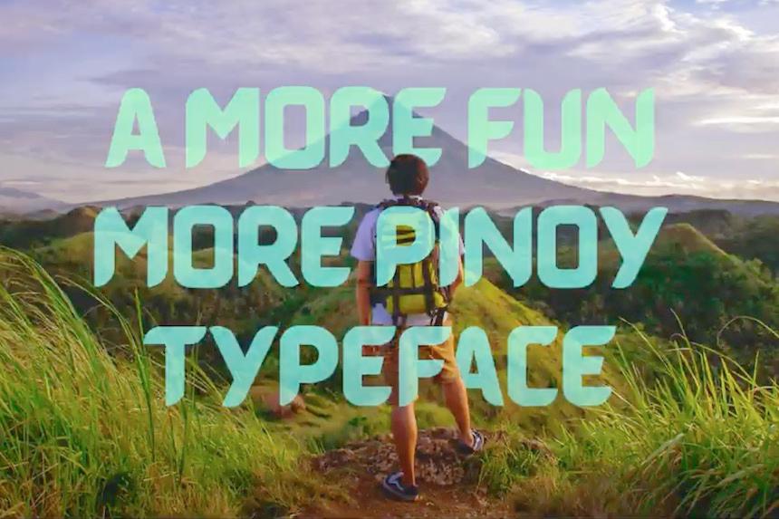 パワーアップした『もっと楽しいフィリピン』の新しいフォント
