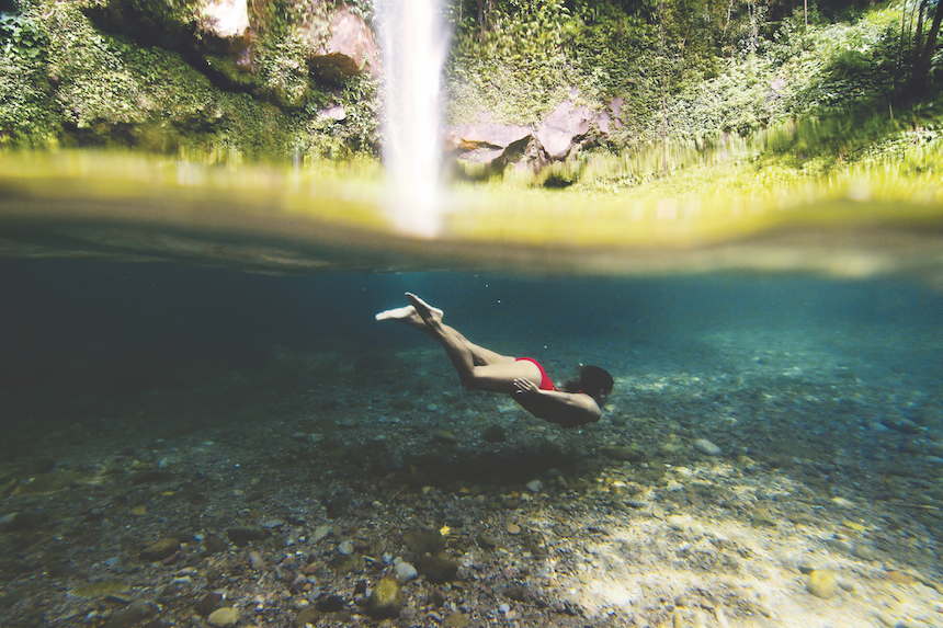 カティバワサンの滝