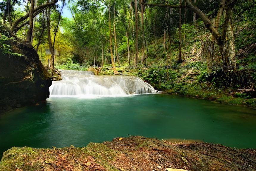 フィリピン,滝,絶景