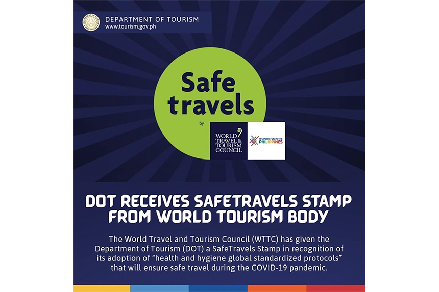 世界旅行ツーリズム協議会が発行する「Safe Travels Stamp」を取得