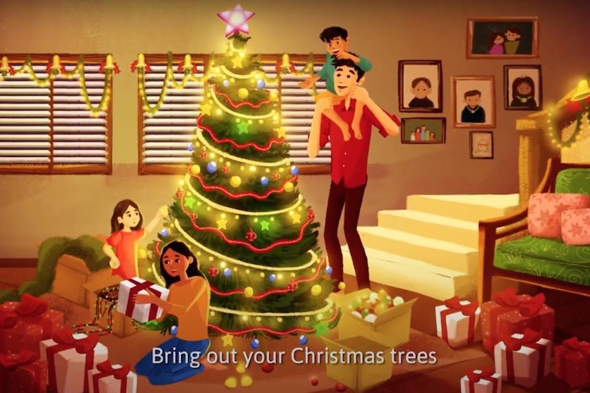 フィリピン政府観光省からクリスマスムービー2020をお届けします